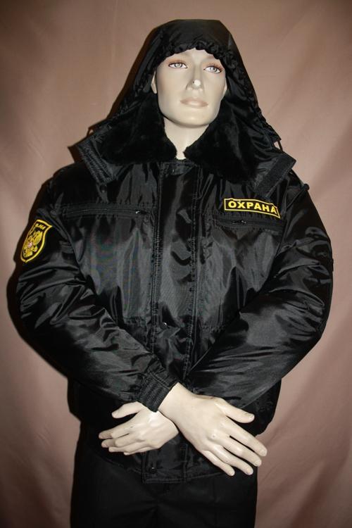 Купить Куртку Черную Охрана